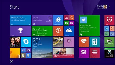 Windows 8 redesign
